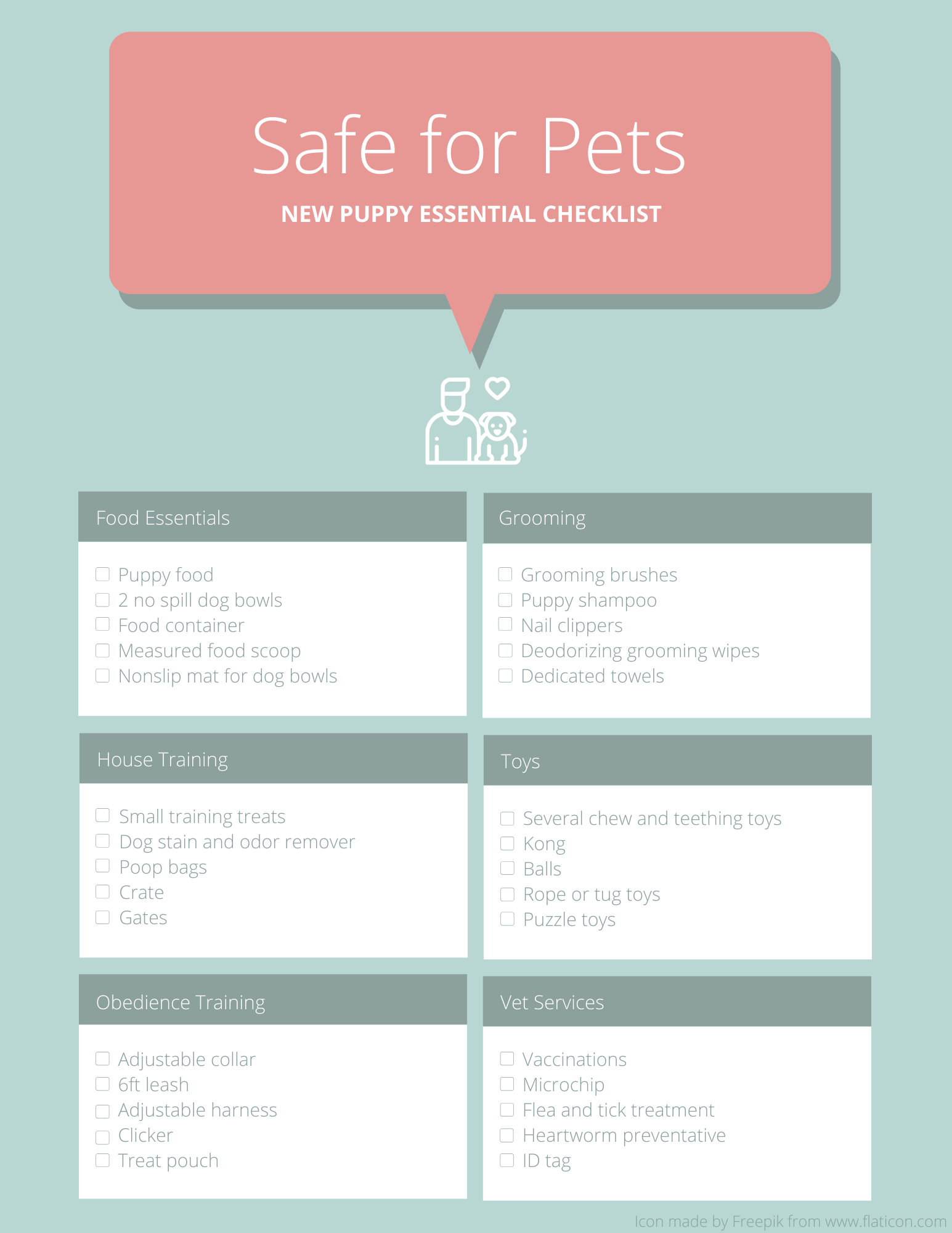 The Ultimate New Puppy Checklist Preparing Your Puppy S Forever Home